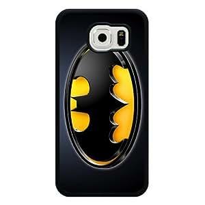 Galaxy S6 Case, Customized Black Soft Rubber TPU Galaxy S6 Case, Batman Galaxy S6 Case(Not Fit Galaxy S6 Edge)