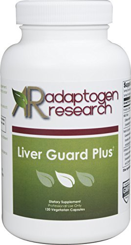 Adaptogen Research Liver Guard Plus | Liver Support Cleanse Detox | Milk Thistle +NAC+ Reishi +Cordyceps |120 Vegetarian Capsules