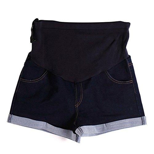 教え寺院犯すXinvision NEW マタニティ ジーンズ レディース 半ズボン妊婦中の女性パンツ ジーンズ ショーツ カジュアル