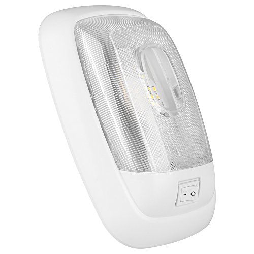 Lumitronics-LED-Euro-Style-RV-Single-Ceiling-Dome-Light-Provides-The-Light-You-Need-In-Your-RV-For-Working-and-Finding-At-Night-Mounting-Hardware-Included