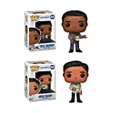 Pop! Television: Community Troy and Abed in The Morning Bundle with Troy Barnes #839 and Abed Nadir #838 Collectible Vinyl Figures (2 Items)