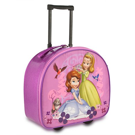 Sofia and Amber Rolling Luggage