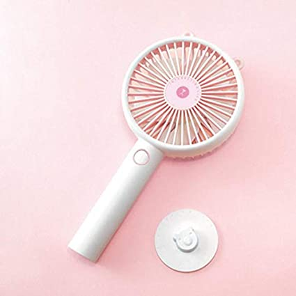 YUMAN Mini Handheld USB Fan Adjustable Portable USB Fan and Desk Base for Office Home Outdoor Travel
