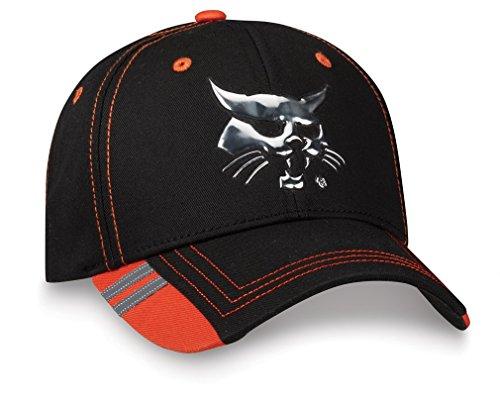 Bobcat 250296 Black/Orange One Size Reflective Stripe Cap from Bobcat