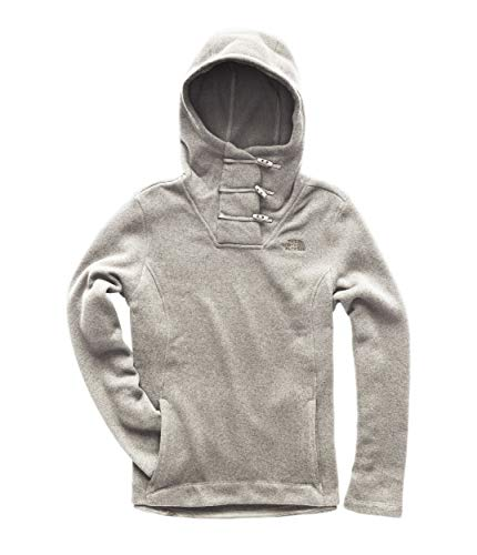 - The North Face Women's Crescent Hooded Pullover Wild Oat Heather Large