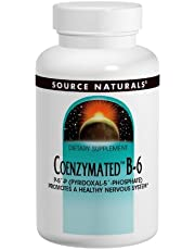 Source Naturals Coenzymated B-6 100mg, 60 Tablets (Pack of 2)