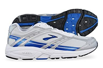 0530397a098 New Brooks Addiction 7 Mens Running Trainers - White - SIZE UK 13 ...