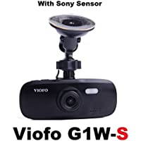 Viofo G1W-S 1080p Dash Camera with Sony IMX323 Image Sensor For Better Night Quality