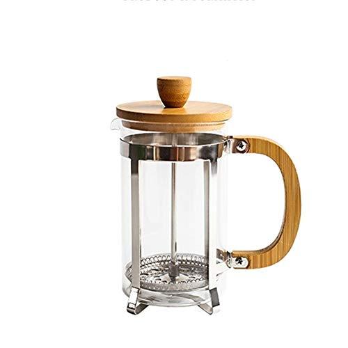 Cafeteras de émbolo Prensa Francesa Pot del hogar francés Fabricante de Vidrio Cafetera Cafetera Filtro Prensa para el…