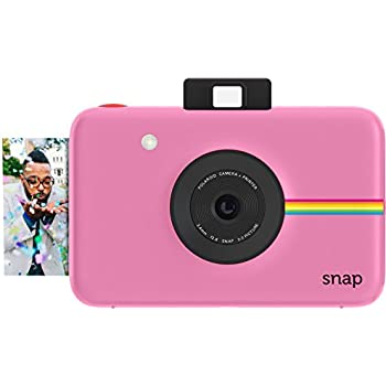 Amazon.com : Polaroid Snap Instant Digital Camera (Pink) with ZINK ...