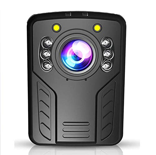 Police Body Camera 1296P with 2.0 inch Touch Screen Night Vision Waterproof Shockproof Support GPS and Android System WiFi Connection