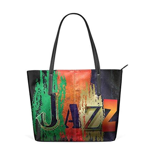 e per della muticolour musica Tote Borsa Cuoio COOSUN Jazz medio a sottofondo borse Estratto tracolla donne borsa di Bag le qzwCZxPF