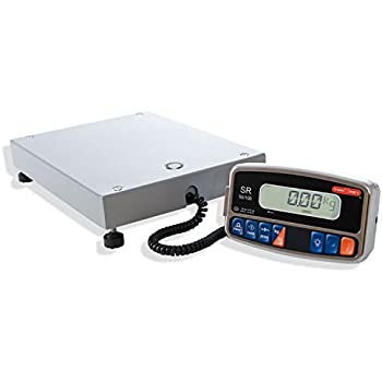 TORREY SR 50/100 Electronic Digital Shipping Scale with Large Display and Backlight, 100 lb