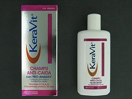 KERAVIT CHAMPU ANTI CAIDA 200 ML: Amazon.es: Salud y cuidado personal