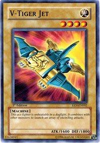 YuGiOh Elemental Energy V-Tiger Jet EEN-EN002 Common [Toy]