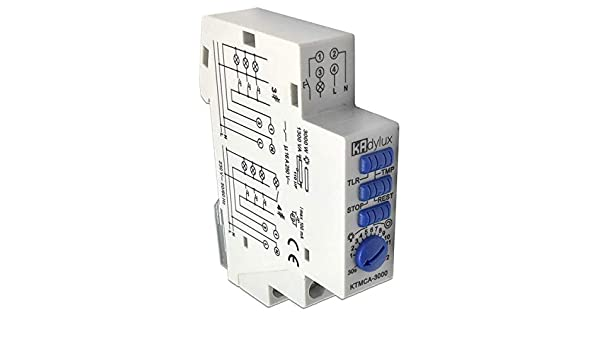 Minutero de escalera Temporizador Telerruptor KTMCA-3000: Amazon ...