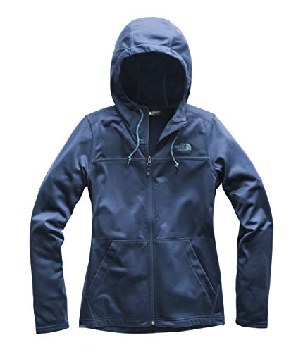 The North Face Women's Tech Mezzaluna Hoodie Blue Wing Teal/Blue Wing Teal Medium