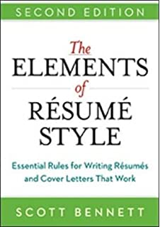 the elements of resume style essential rules for writing resumes and cover letters that work - Resume Rules