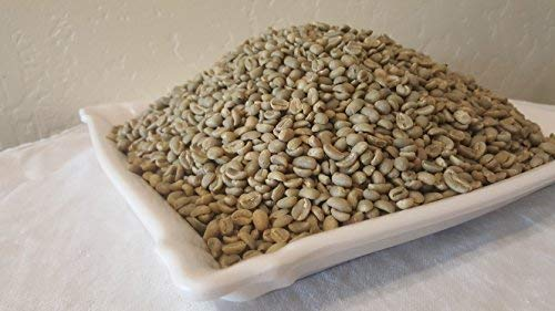 5 lb. Unroasted Ethiopian Coffee Beans ~ 100% all natural ~ Arabica Coffee Beans ~ Available in 5 lb. bag only