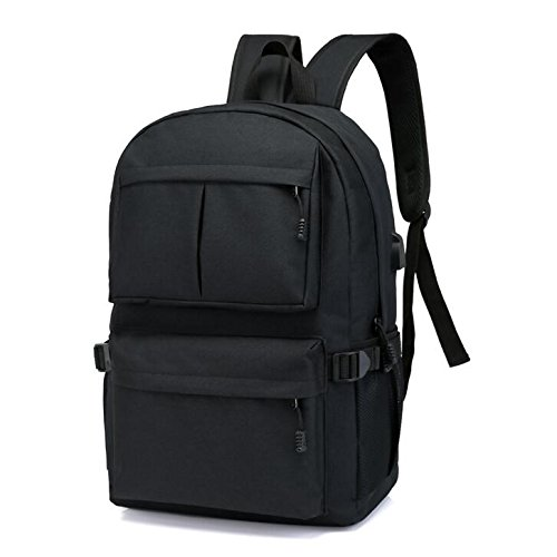 Anti-Theft Backpacks 12 inch Laptop Smart Backpacks for Teenager Fashion Mochila Leisure Travel Backpack Lightweight School Bookbags with USB Charger for ...