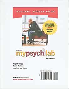 psychology by carole wade and carol tavris 10th edition pdf