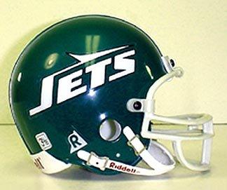 Riddell New York Jets NFL Replica Mini Throwback Football Helmet (1978-1989) ()