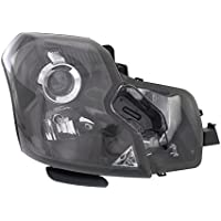 Evan-Fischer EVA1357204425 New Direct Fit Headlight Head Lamp Clear Lens HID With Bulb(s) Passenger Side Replaces OE# 15826016 and Partslink# GM2503315