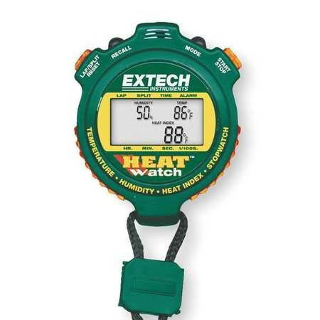 Heat Index Stopwatch - Extech HW30 Humidity/Thermometer/Heat Index Stopwatch