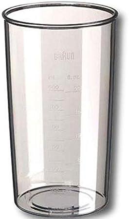 Cuenco transparente alto 500 ml para robot de cocina Braun 4191: Amazon.es: Hogar