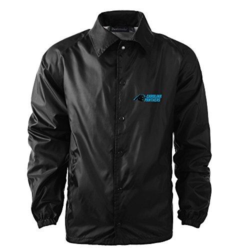 - Dunbrooke Apparel Men's Coaches Jacket, Black, Large