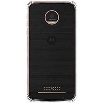 Moto Z Play case, KuGi Moto Z Play case frosted style Soft TPU Case for Motorola Moto Z Play smartphone(Clear)