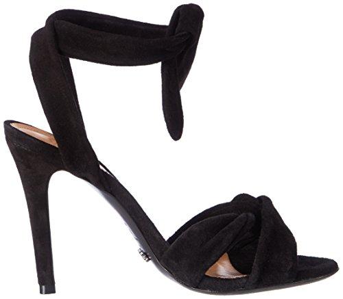 Schutz Women's S0-13871125 Ankle Strap Sandals Black (Black Black) ZnYWT9
