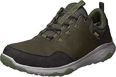 Teva Men's Arrowood 2 WP Trekking and Hiking Boots, Black Olive, 7 US