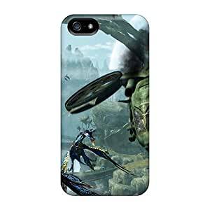 JRCarter Perfect Tpu Case For Iphone 5/5s/ Anti-scratch Protector Case (avatar The Game Screens)