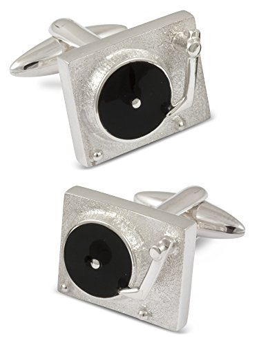 ZAUNICK Turntable Cufflinks Sterling Silver by ZAUNICK