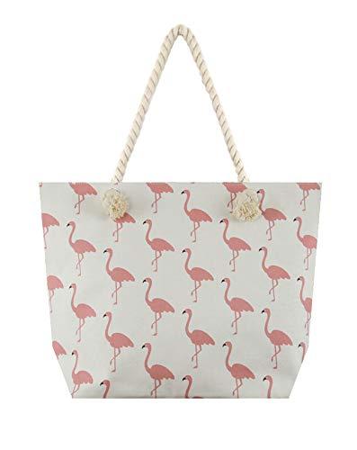 Flamingo Canvas Tote Bag]()