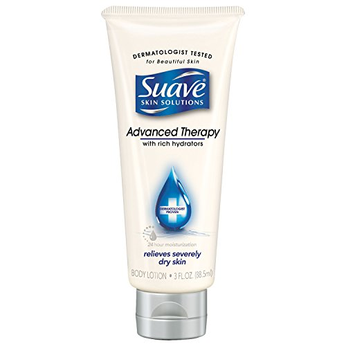 (Suave Skin Solutions Body Lotion, Advanced Therapy, 3 oz )