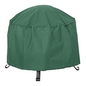 Classic Accessories 55–449–011101–11Atrium redondo Patio cubierta, de 22pulgadas, Verde