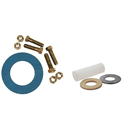 2-1/2 Asbestos-Free Ring Gasket Kits with Insulation Kit, 5/8 x 3 Bolt Size- Pack of 5