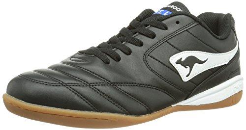 KangaROOS K-Yard 3021, Herren Sneakers Schwarz (black/white 500)