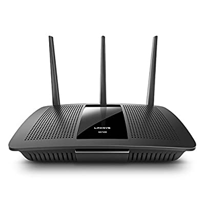 Linksys MAX-STREAM AC1750 Next Gen AC MU-MIMO Smart Wi-Fi Router EA7400 (Certified Refurbished) by Linksys