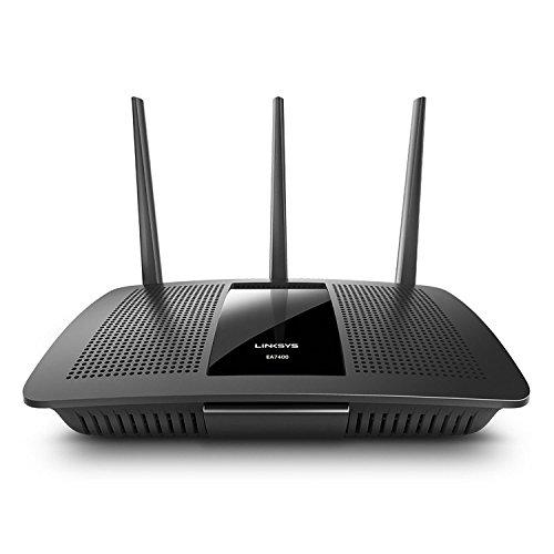 Linksys MAX-Stream AC1750 Next Gen AC MU-MIMO Smart Wi-Fi Router EA7400 (Renewed)