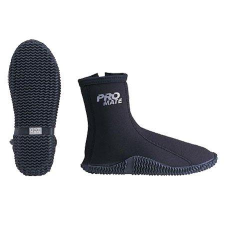 Promate 3mm Dive Walker Lite Diving Zipper Boots, Men 4 / Women 5