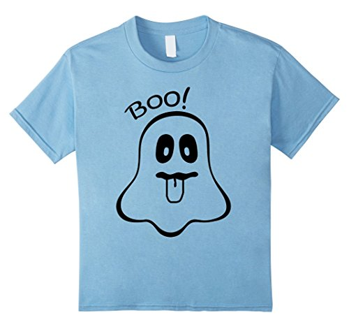Kids Boo Baby Ghost Costume Cute Easy Halloween Toddler 4 Baby Blue (Boo Costume For Toddler)