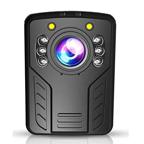DX.JLY 1296P Police Body Camera with 2.0 inch Touch Screen Night Vision Waterproof Shockproof Support GPS and Android System