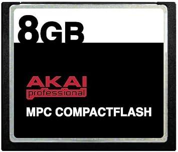 2GB Compact Flash Card for Akai MPC500 MPC1000 MPC2500