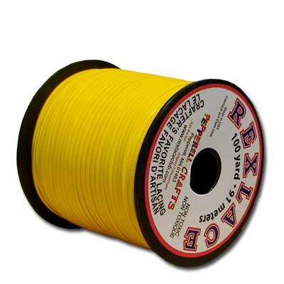 Springfield Leather Company's Rexlace Yellow Plastic Lace