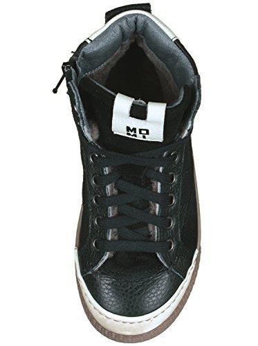 Momino - Zapatillas de Piel para niño Schwarz (50592 nero)