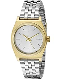 Women's A3992062 Small Time Teller Two-Tone Stainless Steel Watch