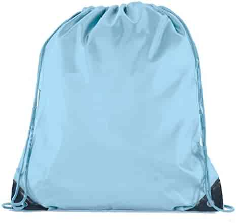6dd014e93f Mato & Hash 25 Bags - Double Strap Drawstring Gym Sack Promotional Party Favor  Bag -
